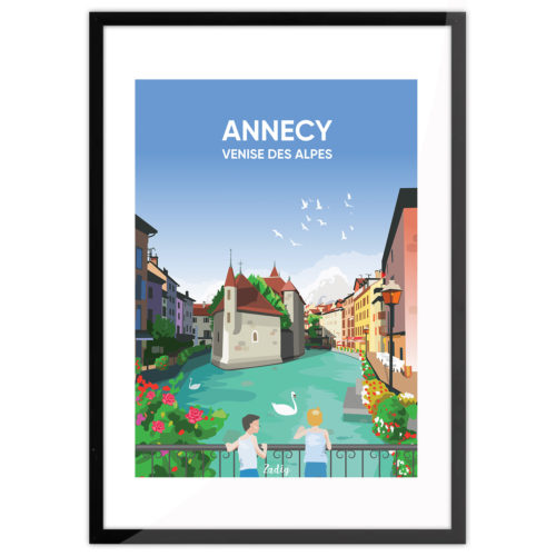 ANNECY Canaux Cadre