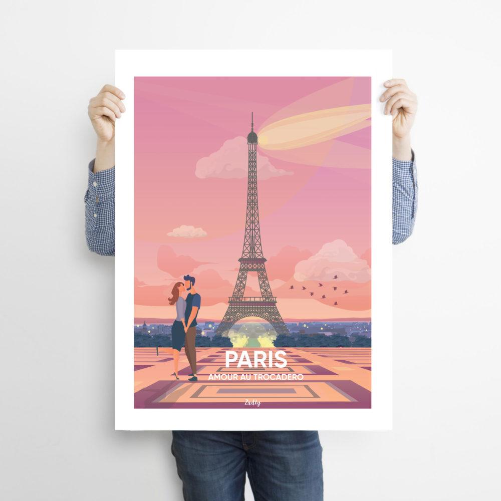 PARIS Trocadero Man