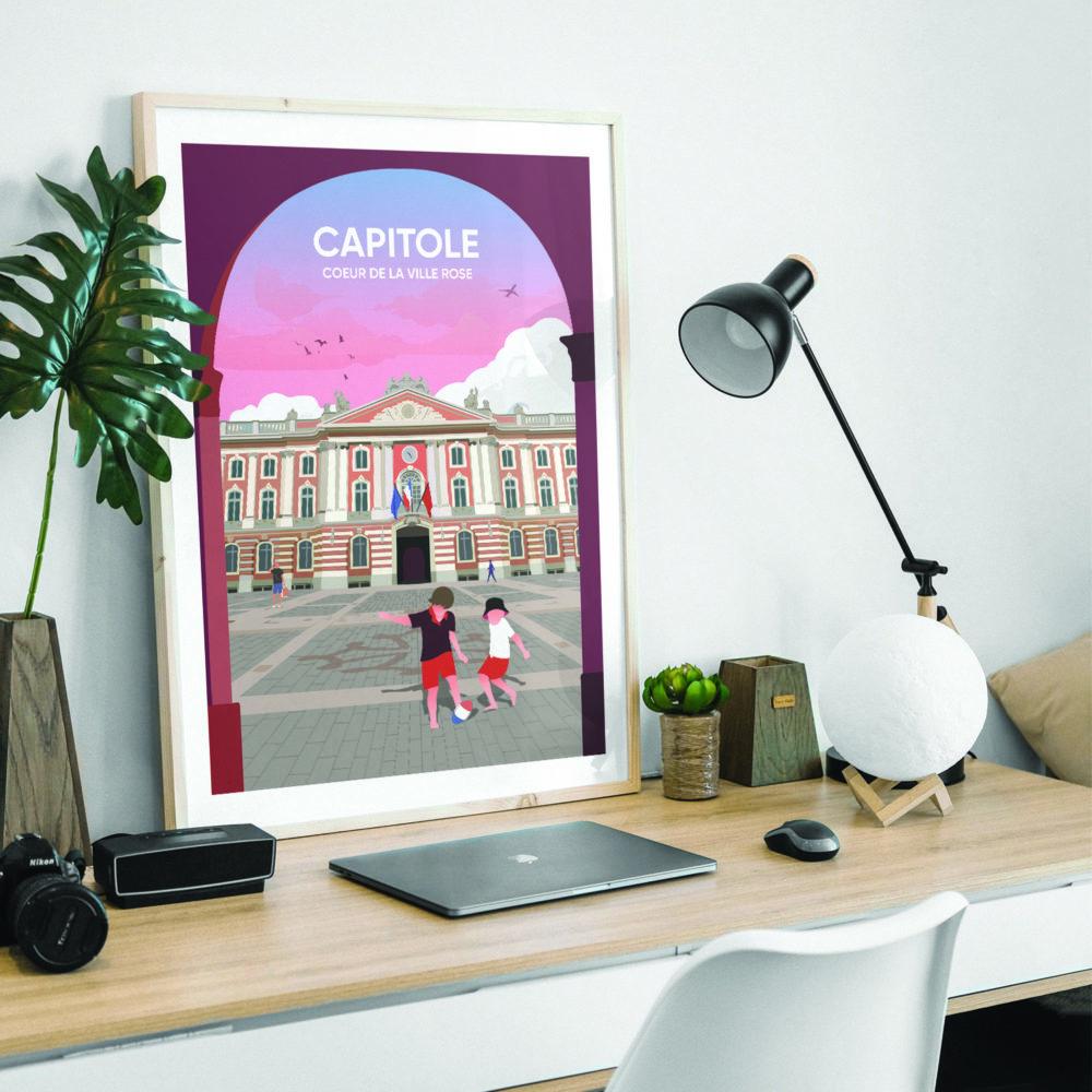 TOULOUSE Capitole Desk