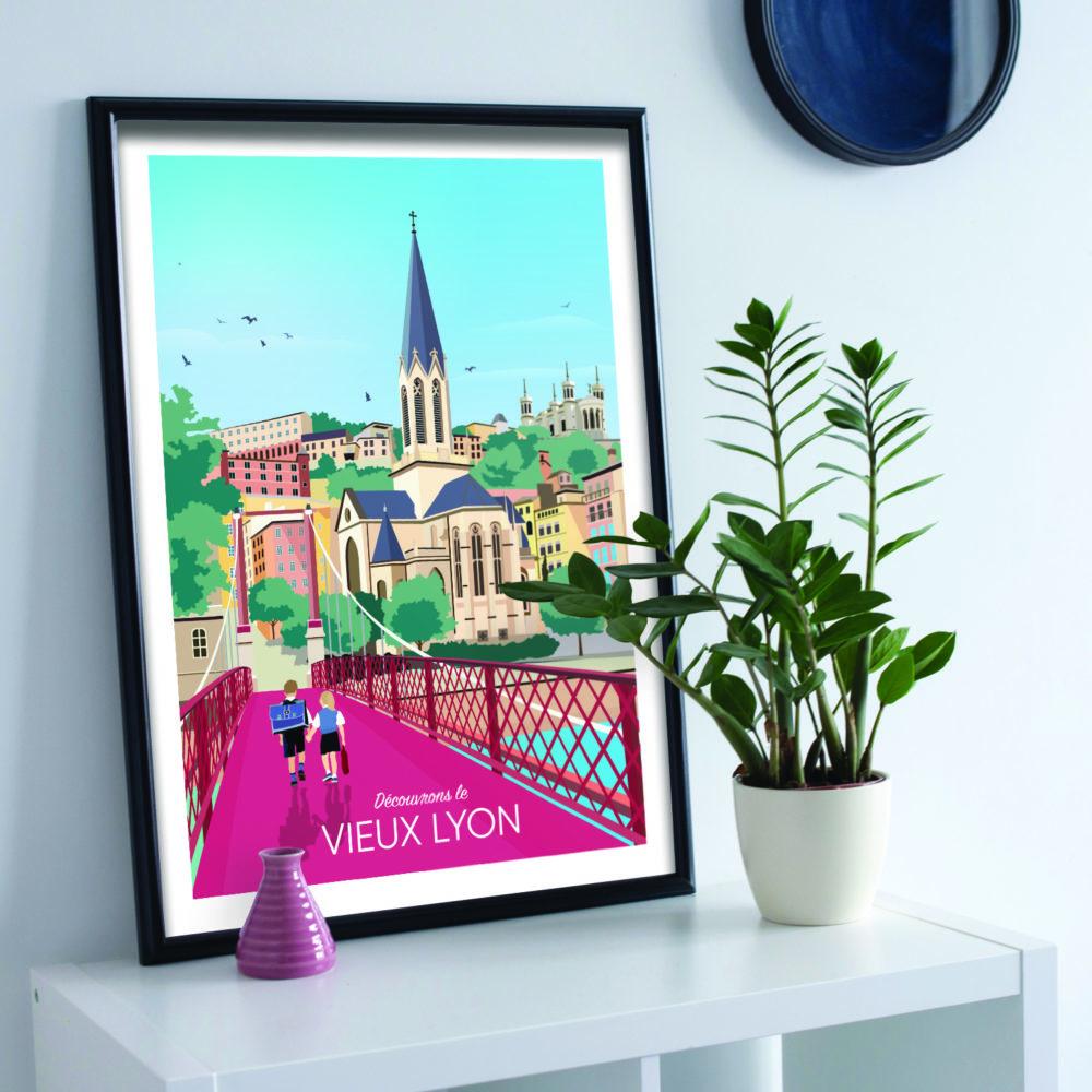 LYON Vieux Lyon Commode