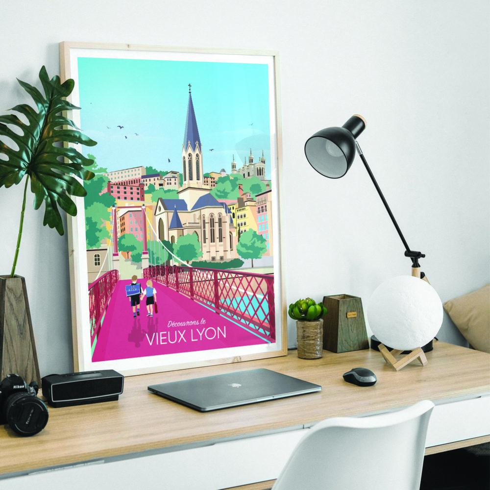 LYON Vieux Lyon Desk