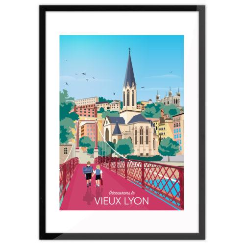 LYON Vieux Lyon Frame